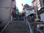 今朝の石段街.JPG